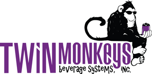 Logo twin monkeys