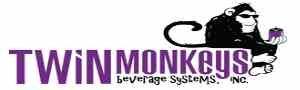 logo twin monkeys