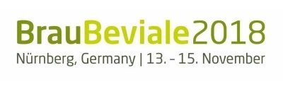 BrauBeviale – 2018, Nürnberg, Germany, 13 – 15 November